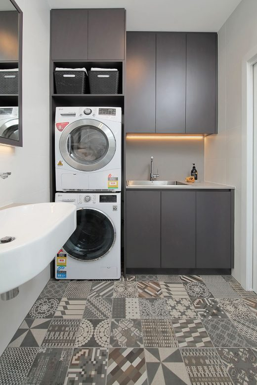 Compact laundry design