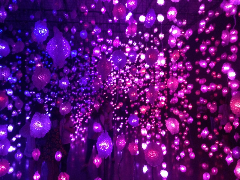 Pixel Forest purple