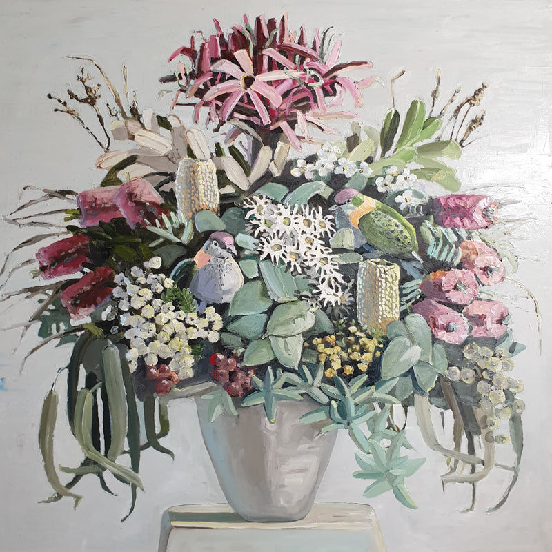 Floral arrangement by Jane Guthleben