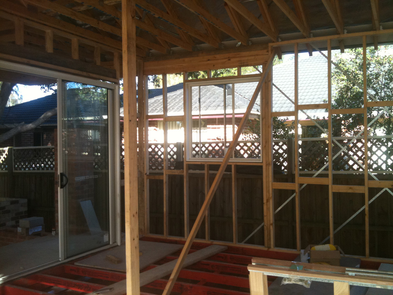 Construction frame work