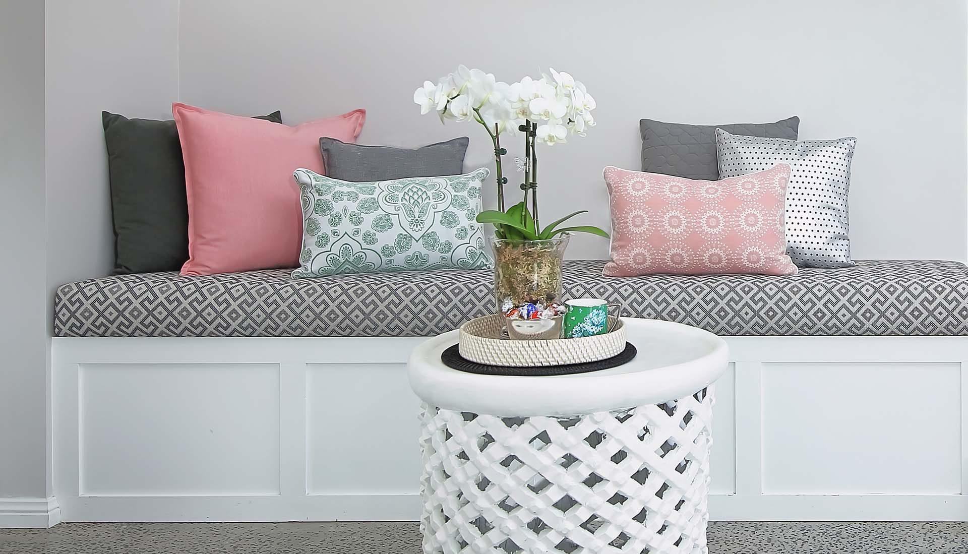 Custom Seat and Cushions