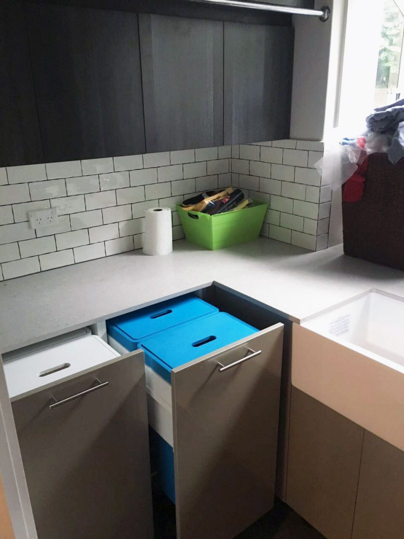 Pullout Laundry Basket